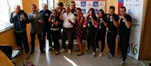 Foto di gruppo con il Sindaco Bonaldi e l'Assessore Della Frera